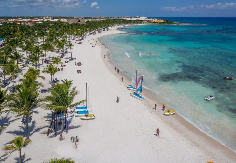 water sky Beach Nature shore Coast Sea caribbean Ocean sand cape wind wave reef lined day