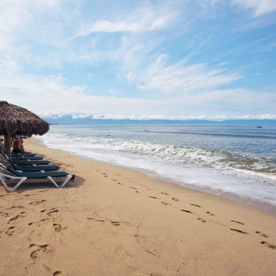sky Beach shore water Nature Sea Ocean Coast horizon sand wind wave wave cape material sandy day