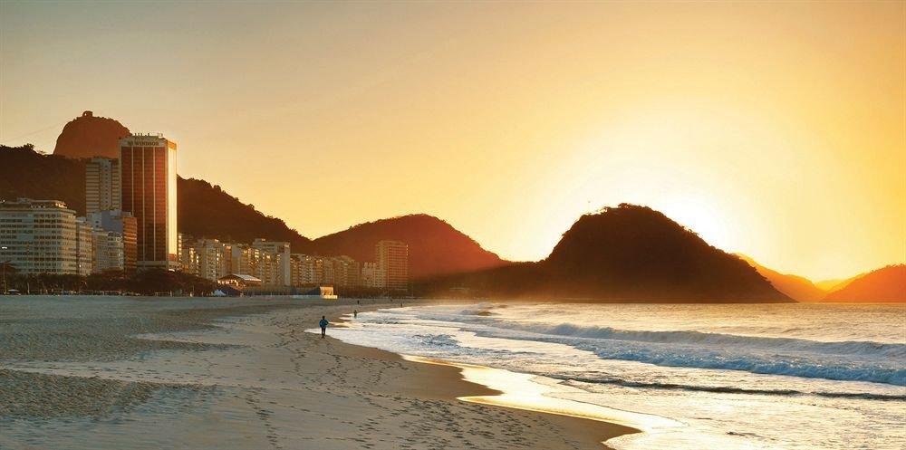 sky water horizon Beach Nature sunrise Coast Sea Sunset dawn morning shore dusk Ocean evening sunlight sand landscape Sun wave