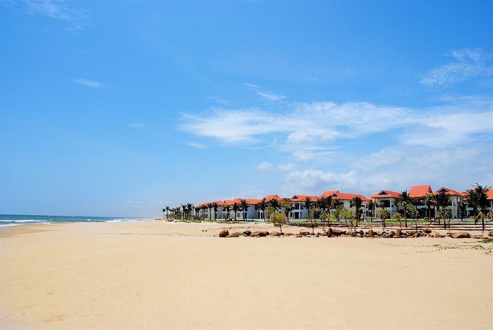 sky Beach shore Sea Coast Ocean horizon Nature sand walkway boardwalk cape sandy day