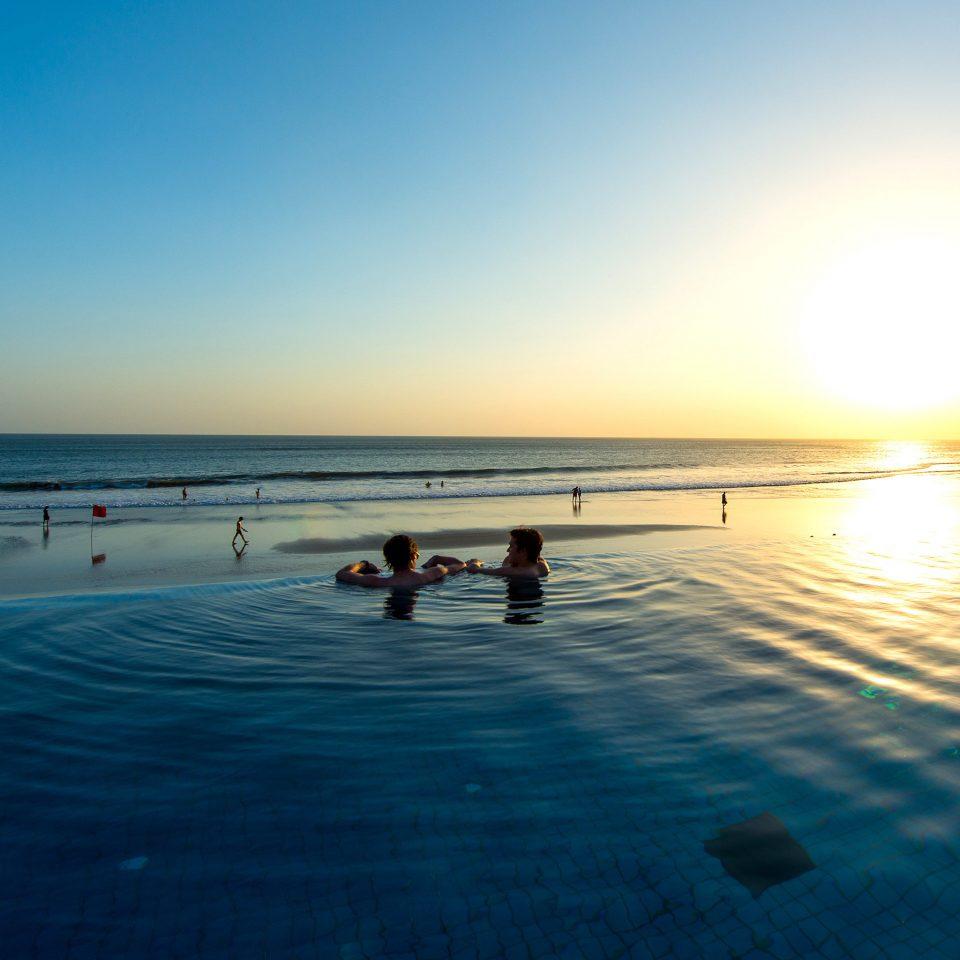 Beach Ocean water sky horizon Sea shore Nature sunrise wave morning Coast wind wave dawn sunlight Sunset dusk evening sand swimming