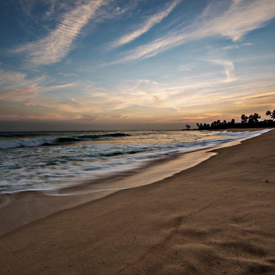 sky water Beach Nature shore Sea Ocean Coast horizon cloud wave sand Sunset wind wave sunrise dawn morning dusk sunlight evening Sun sandy clouds day