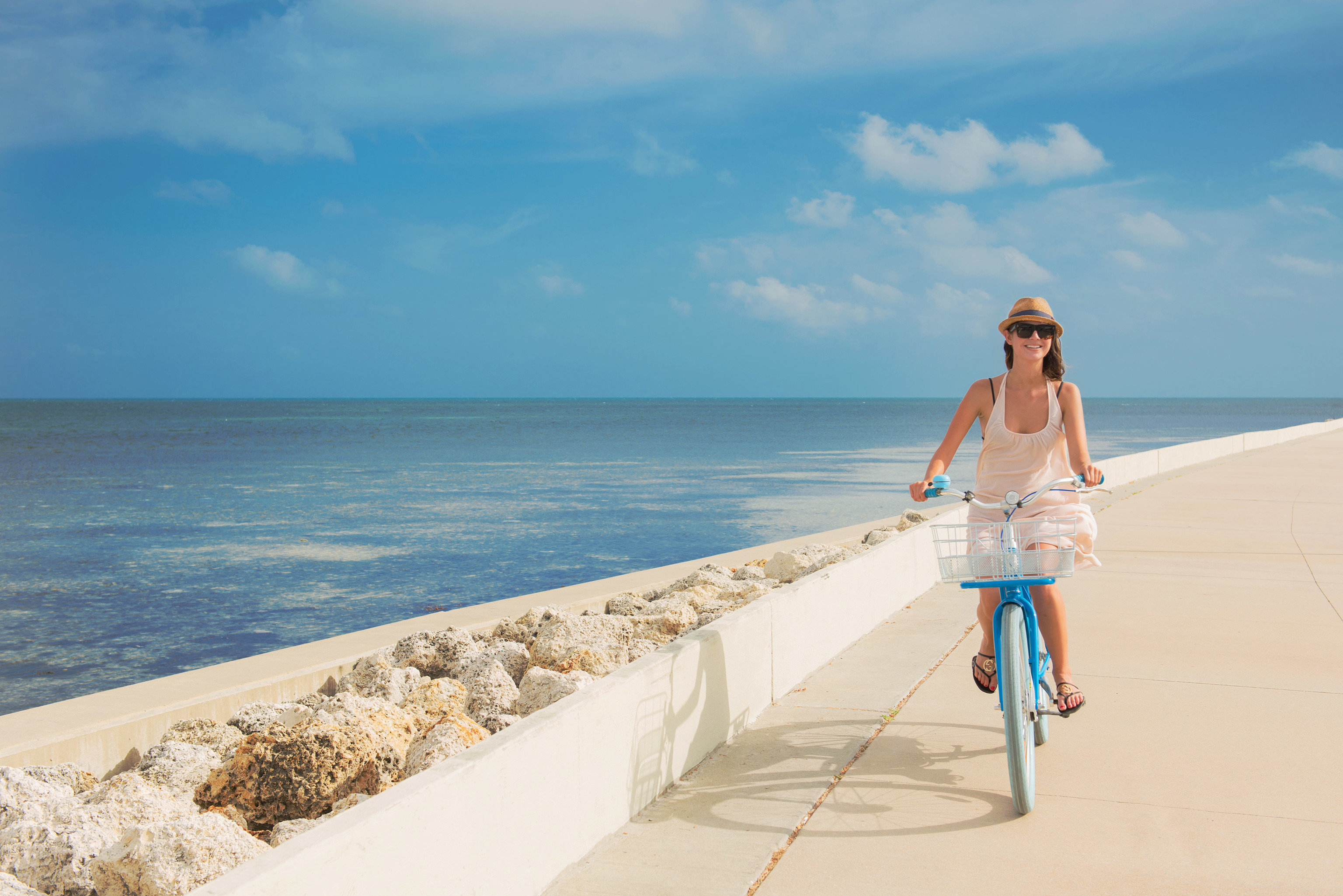 sky water Beach Sea shore blue Ocean Coast Nature horizon sand caribbean cape wave