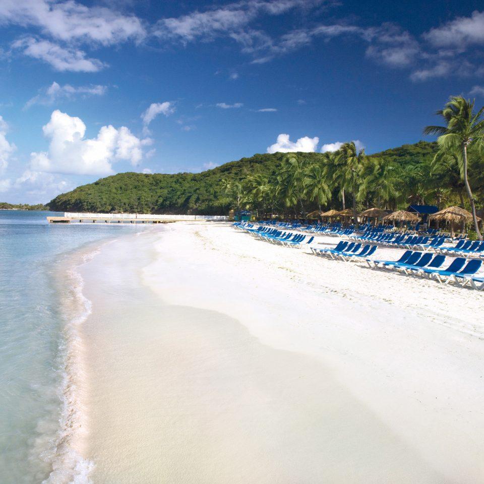 sky water Beach Nature shore Sea Coast Ocean wind wave wave sand caribbean sandy day
