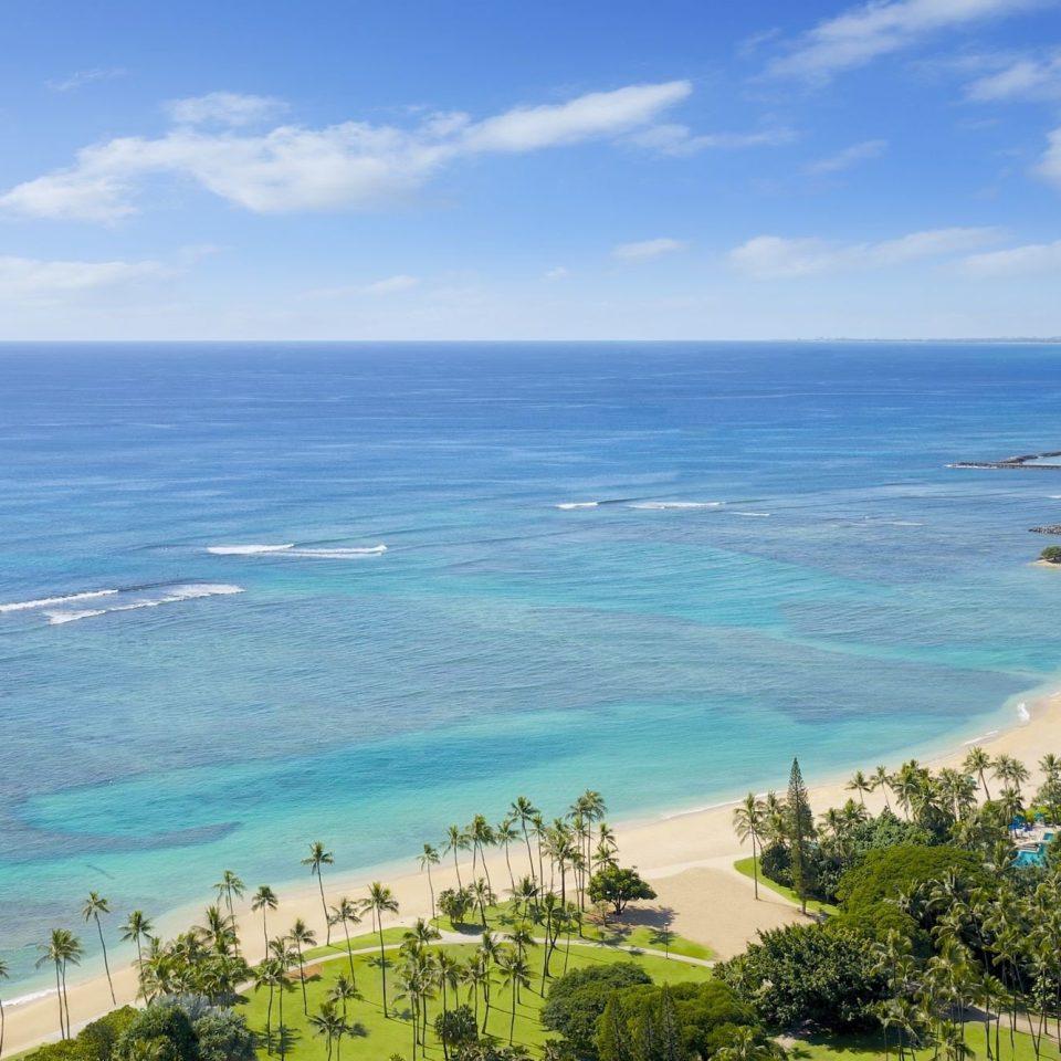 water sky Nature Ocean Sea Coast shore promontory Beach horizon caribbean cape overlooking islet Resort cove