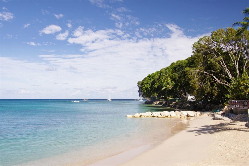 water sky Beach shore Nature Sea Coast Ocean sand tropics cape cove caribbean day