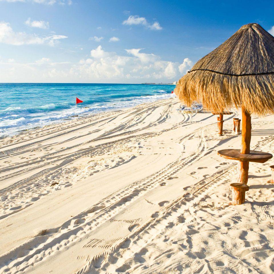 sky Beach Nature shore Sea sand Ocean Coast Resort sandy day