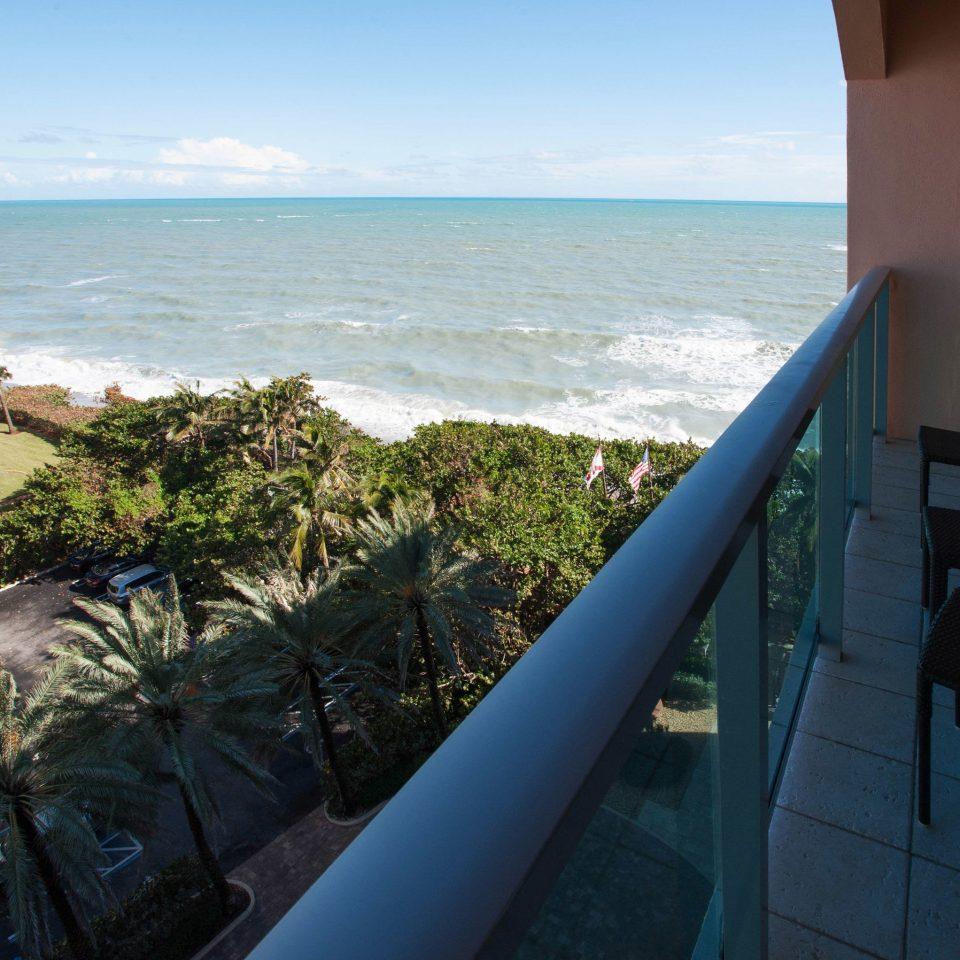 sky water Ocean blue Sea Coast Beach overlooking Nature cape caribbean shore travel