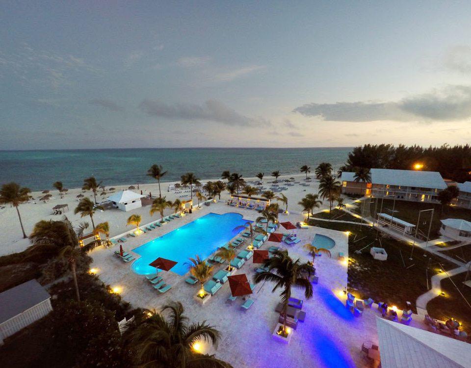 sky Beach Sea Resort Nature Ocean Coast dusk shore