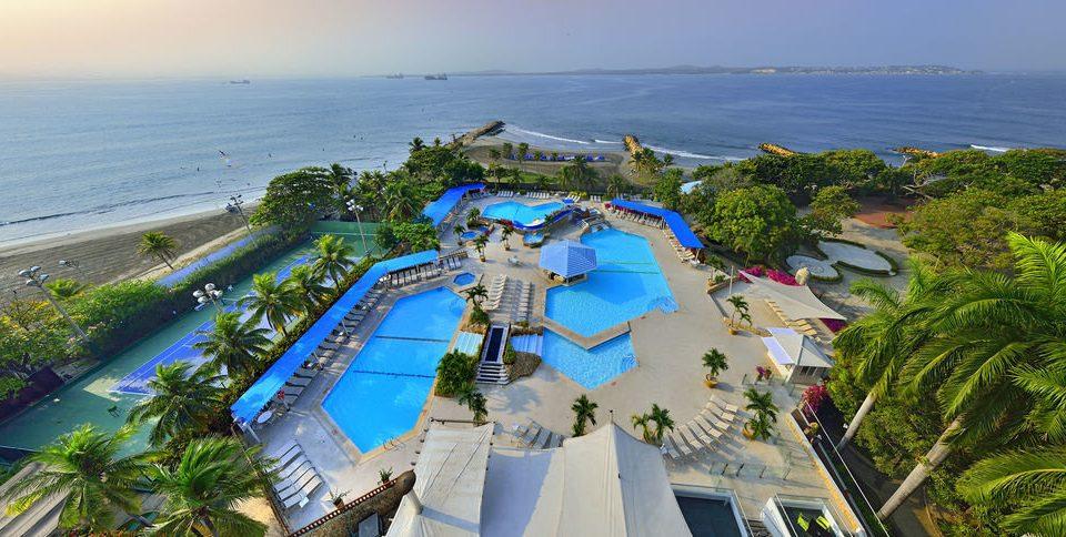sky leisure Resort amusement park Water park caribbean Nature Sea park Beach Coast overlooking shore