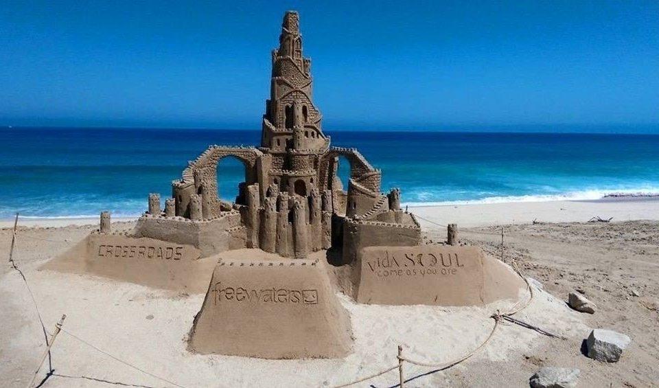 sky sand Nature Sea shore Coast Beach cape material terrain monument