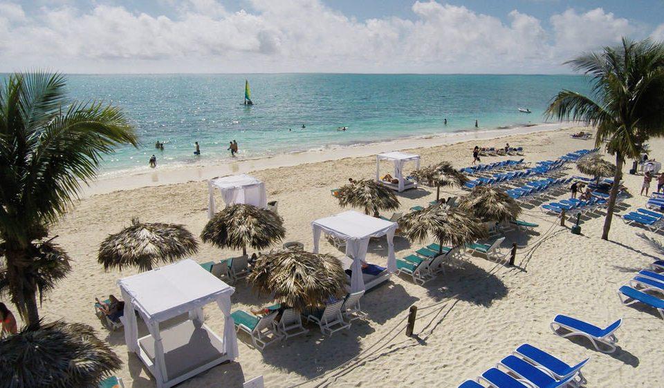 sky Beach Resort arecales Sea Ocean Coast sand caribbean shore sandy