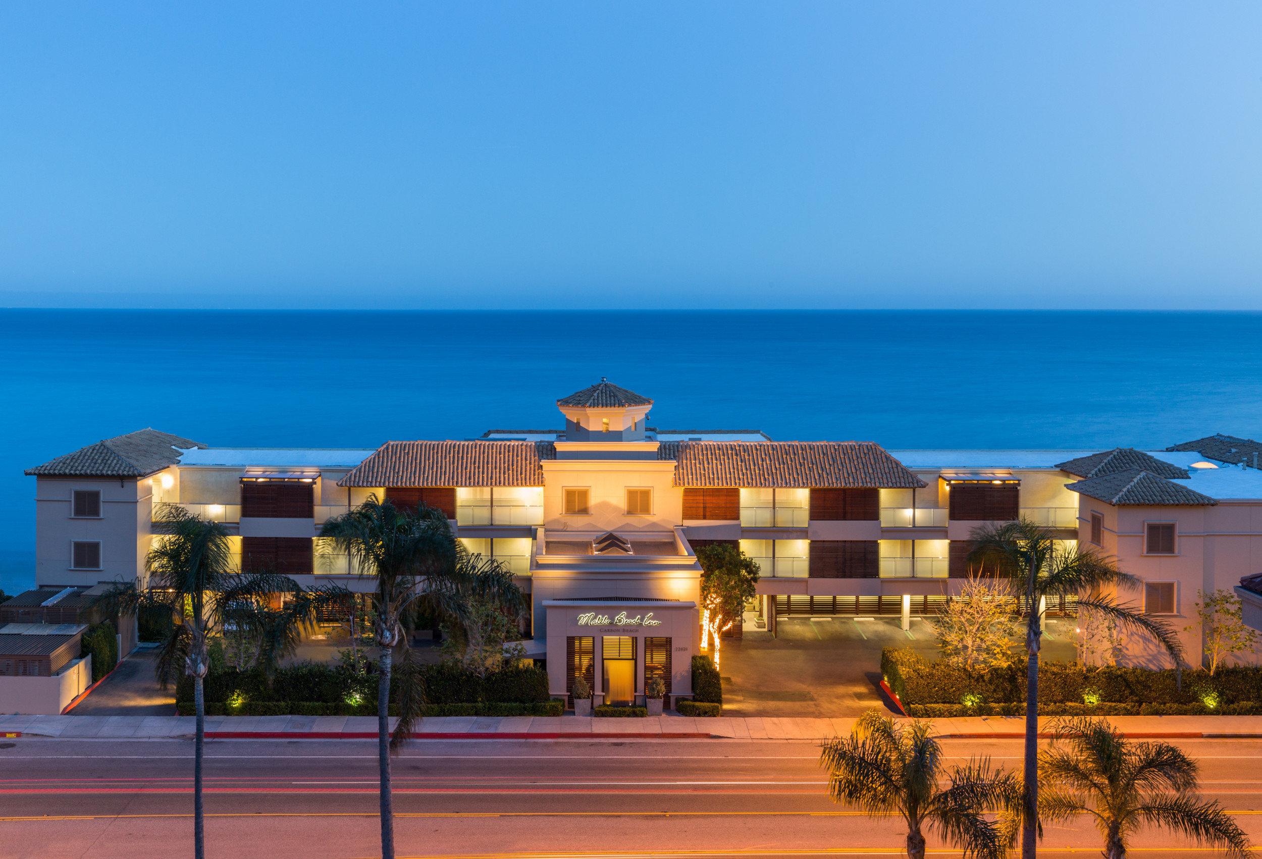 sky Resort Beach Ocean Sea Coast dusk sign