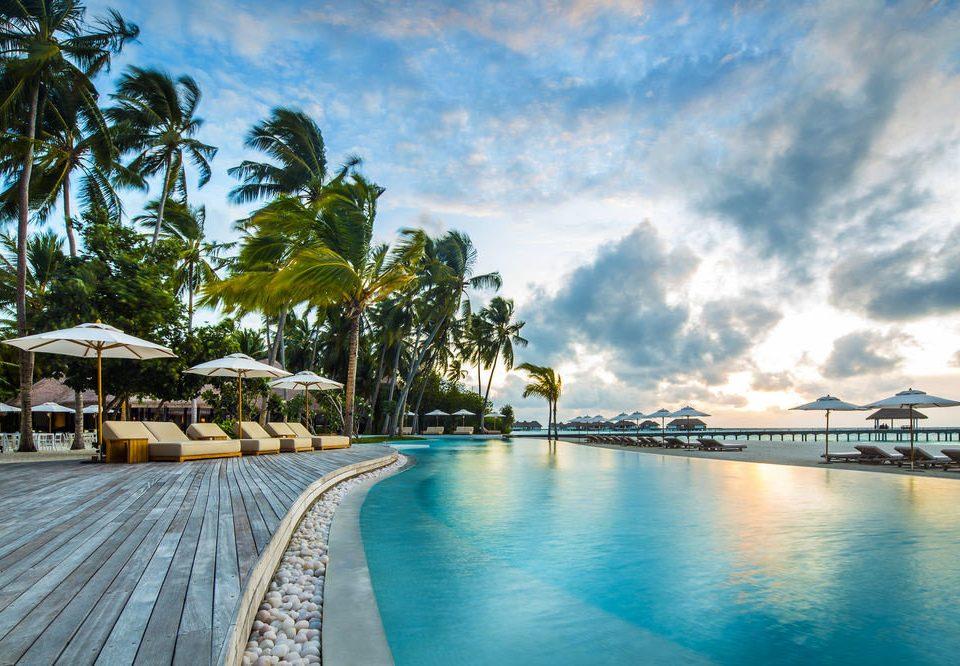 sky Sea swimming pool Beach Resort Ocean caribbean arecales Coast