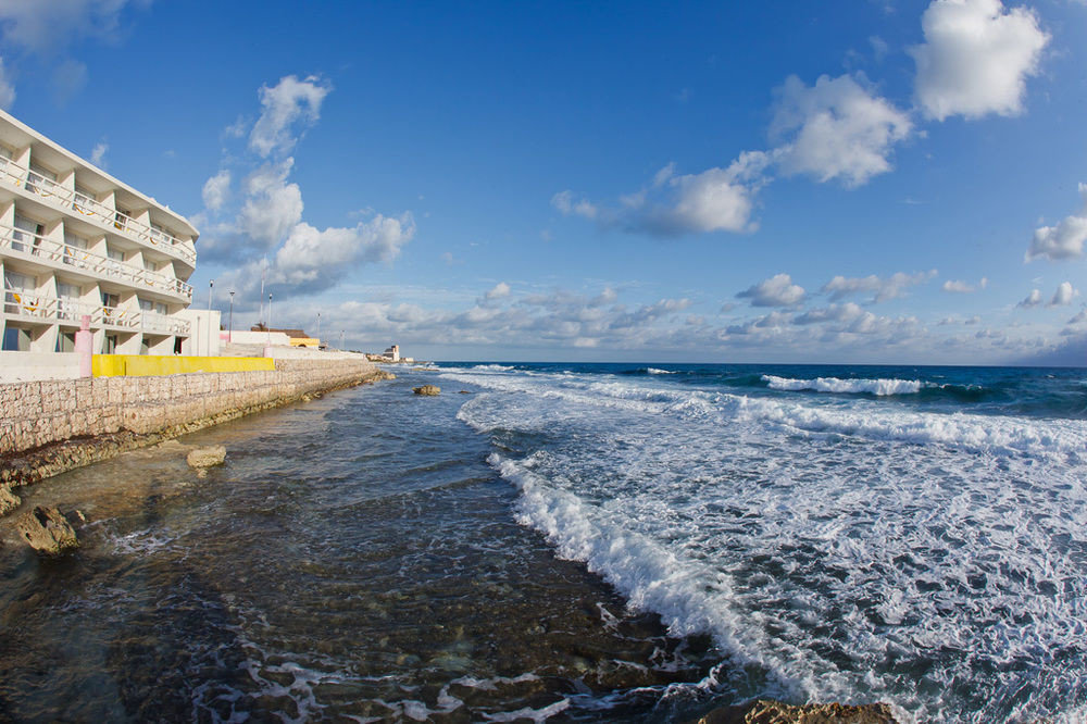 sky water shore Sea Coast Ocean horizon wave wind wave Beach cape day
