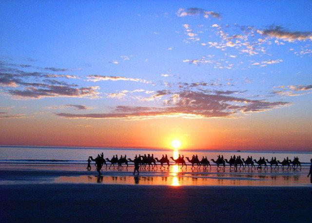 water sky Beach afterglow horizon pier Sea Sunset sunrise dawn Ocean dusk cloud shore morning evening Coast Sun