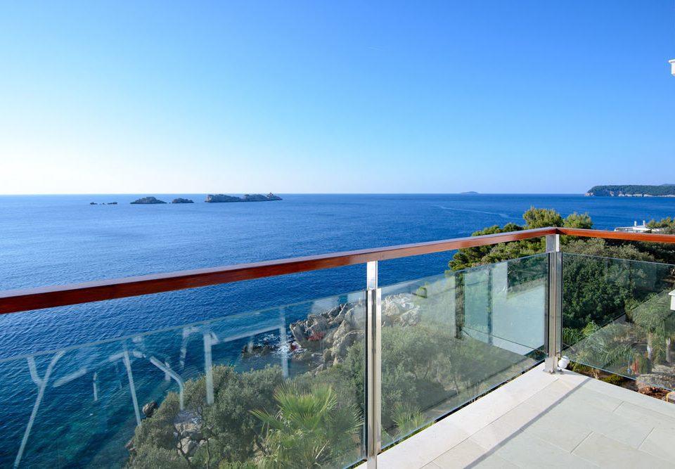 sky water leisure Sea Ocean Coast horizon shore Beach overlooking dock caribbean marina distance