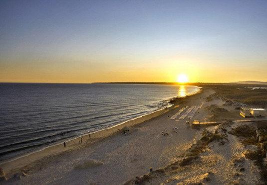 sky water Beach shore Sea horizon Coast sunrise Ocean Sunset dawn morning wave sunlight wind wave sand dusk evening Sun cape sandy