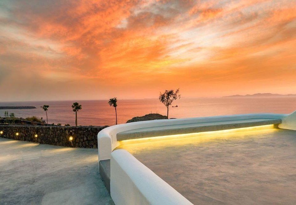sky Beach Sea horizon Ocean Sunset shore morning sunrise Coast evening dusk wave sunlight dawn clouds