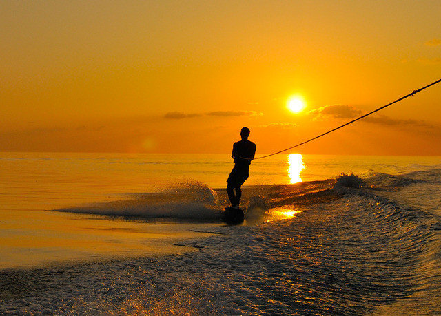 sky water Sea Sunset shore horizon Beach sunrise Ocean Coast morning dawn wave afterglow evening dusk Sun fishing sunlight wind wave sand