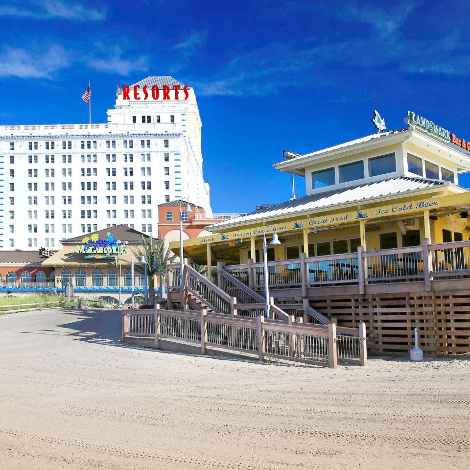 sky Beach landmark walkway boardwalk Resort pier Coast shore sandy