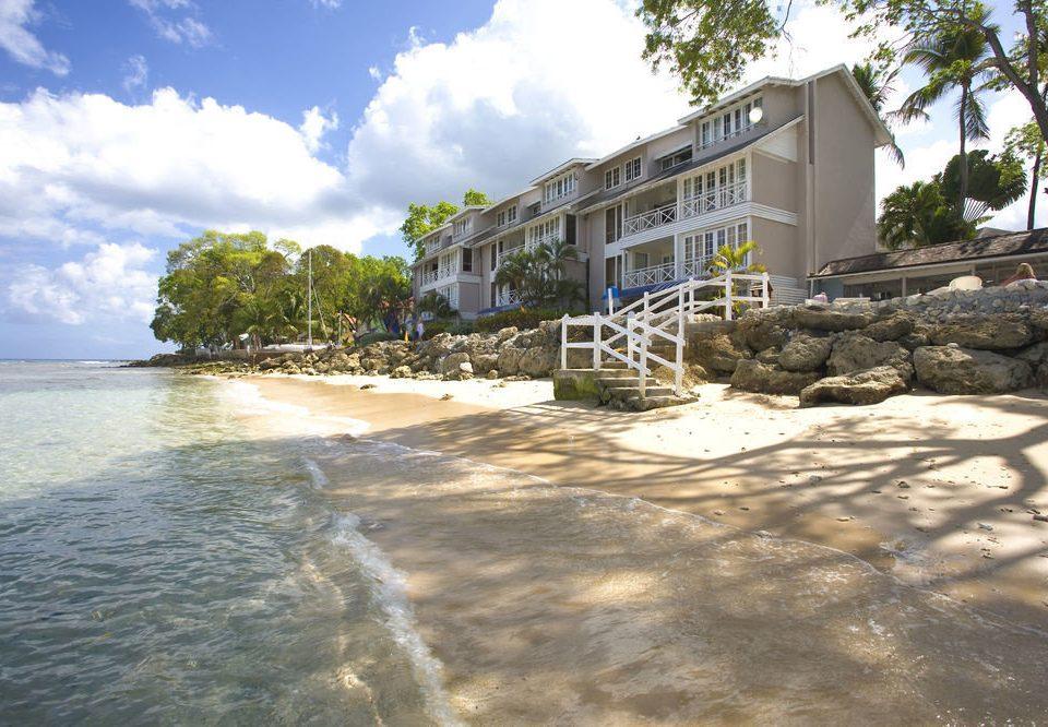 sky Beach shore Coast Sea walkway Resort waterway