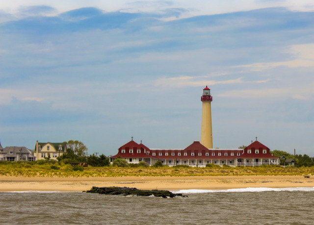 sky water tower lighthouse house Sea Coast Beach shore