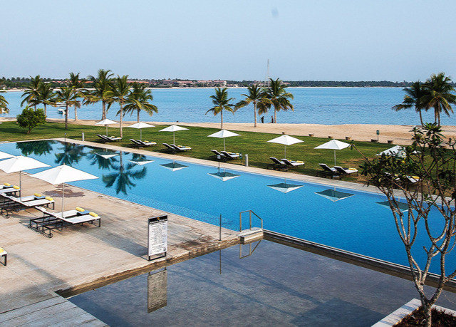 sky water ground leisure property swimming pool Resort marina dock Beach Sea Villa Lagoon caribbean shore Deck overlooking lined