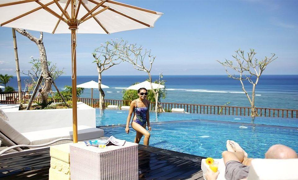 sky water leisure swimming pool property caribbean Resort Sea Ocean Beach Villa Deck overlooking swimming day