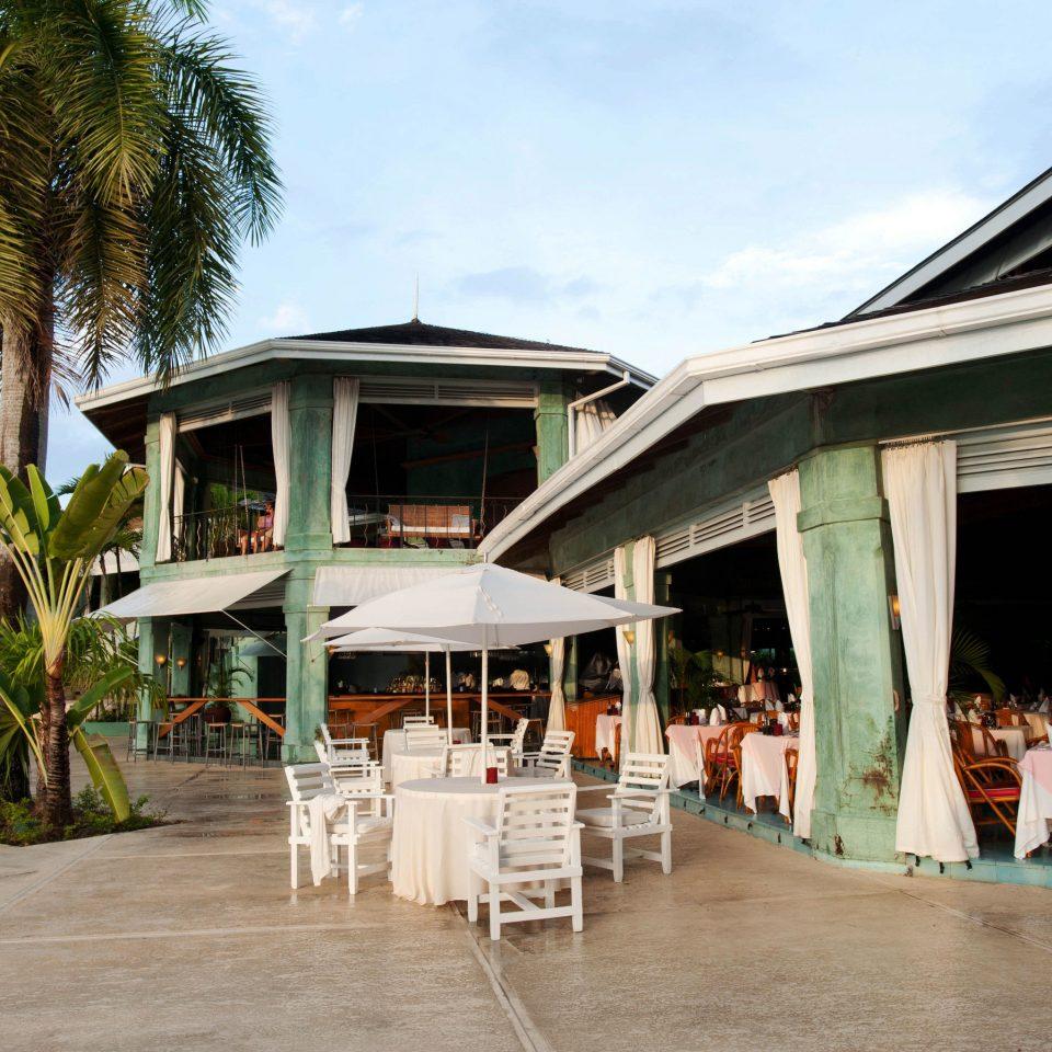 sky building ground Resort walkway Beach restaurant boardwalk porch Deck