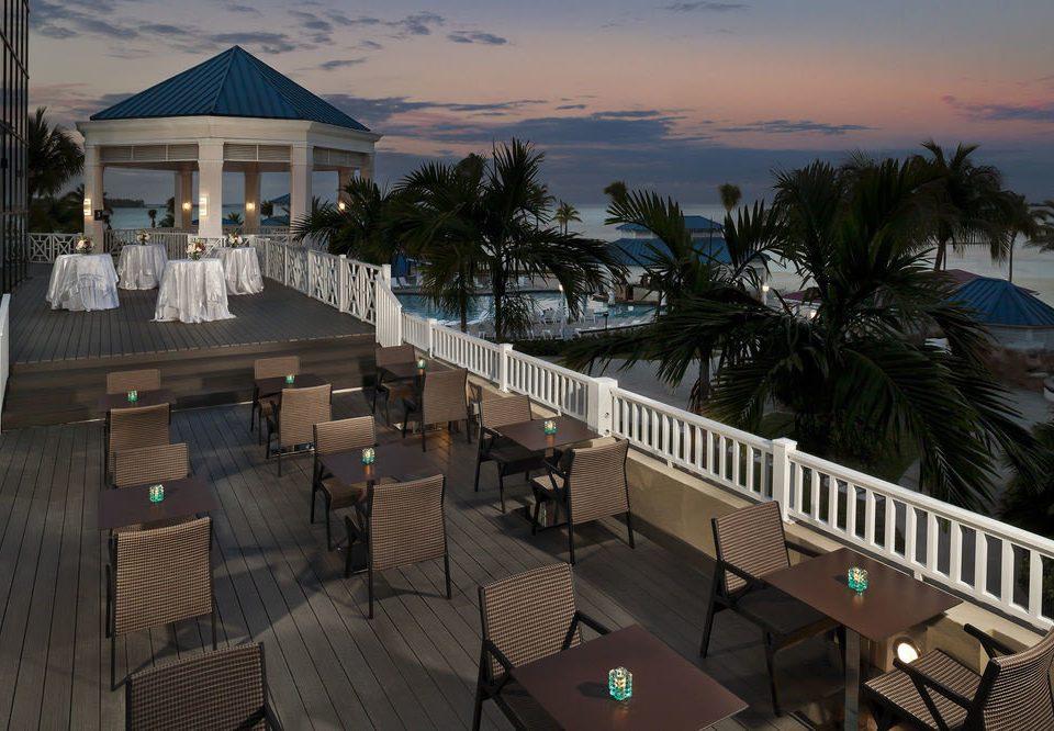 building Resort Beach Deck