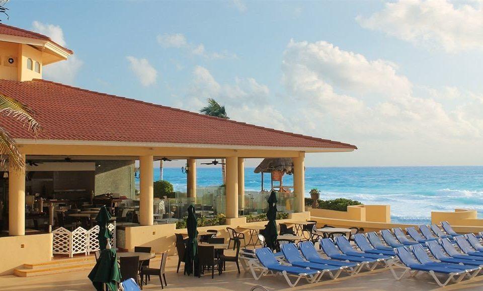 sky chair property Resort leisure building Deck Villa lawn caribbean Beach restaurant cottage shore