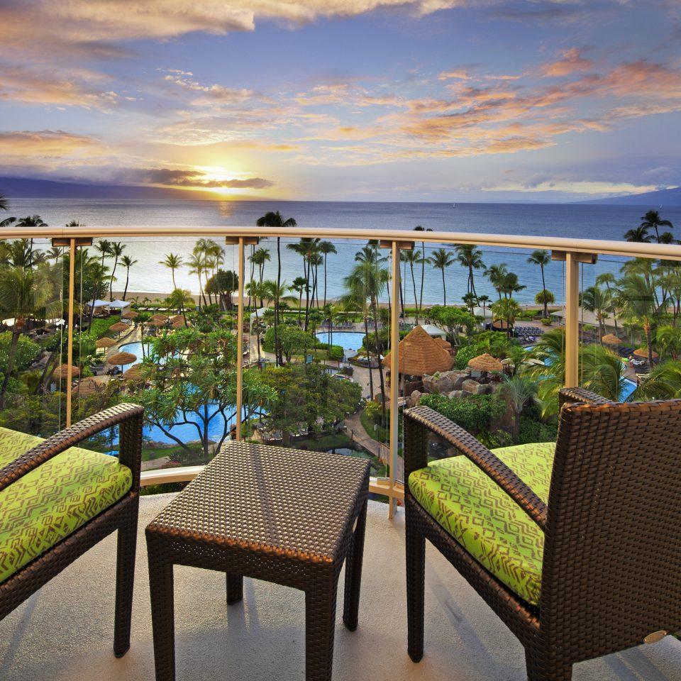 sky chair property leisure Resort caribbean Villa Beach set overlooking Deck shore