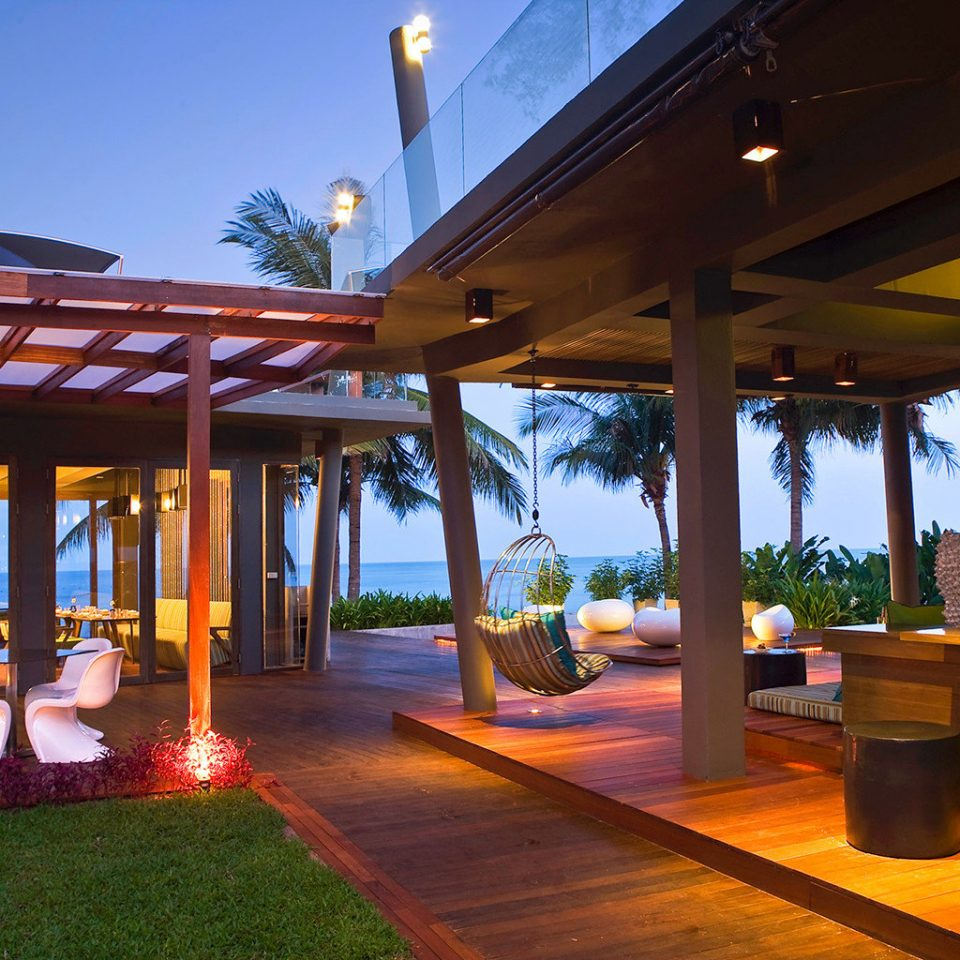 Beach Dining Family Grounds Modern Resort sky leisure building home restaurant Villa hacienda