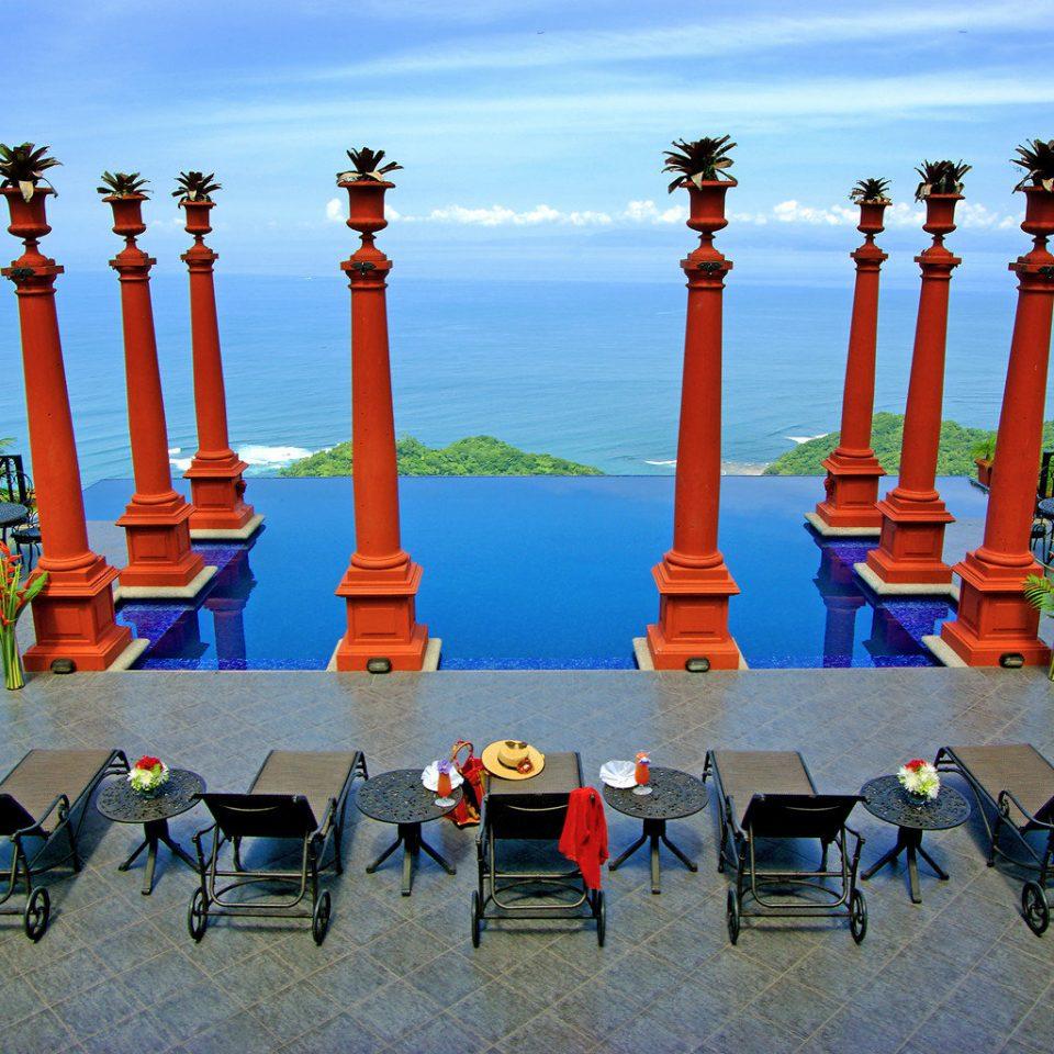 Elegant Historic Luxury Modern Penthouse Pool Scenic views sky leisure water landmark amusement park Beach Resort park Sea travel