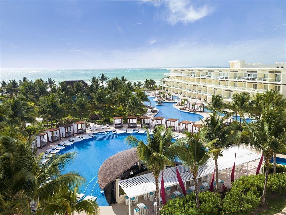 Exterior Lounge Luxury Modern Pool tree sky property leisure Resort marina Beach River condominium resort town dock Sea ride