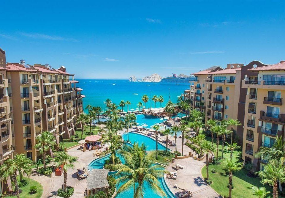 sky property Resort Town condominium lawn Garden resort town Beach plant marina