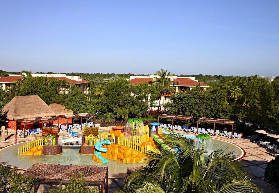 sky leisure Resort Water park Beach Village amusement park Garden park plant colorful