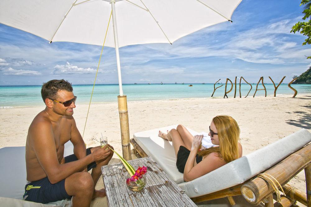 sky water Beach leisure umbrella caribbean Sea Nature accessory sun tanning Honeymoon shore day