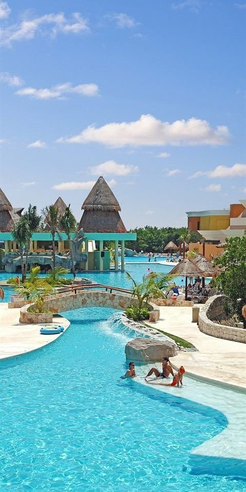 sky water swimming pool Resort leisure house caribbean Sea Pool Beach Lagoon Water park resort town Island swimming day