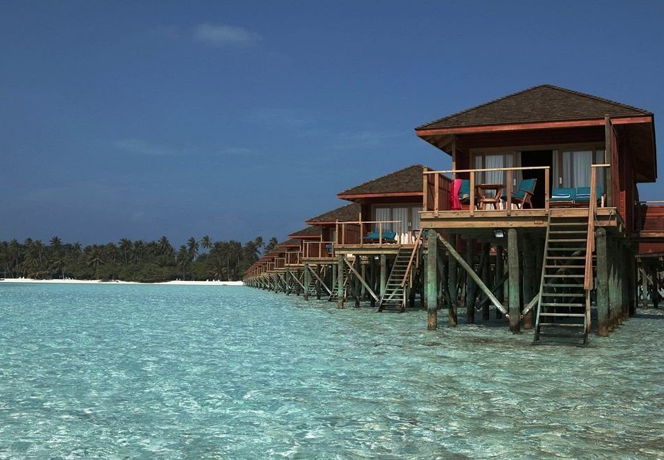water sky Beach Sea wooden Resort bridge Island