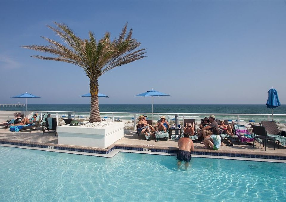 Lounge Luxury Pool sky water swimming pool leisure Sea Resort swimming Ocean caribbean arecales Beach Lagoon