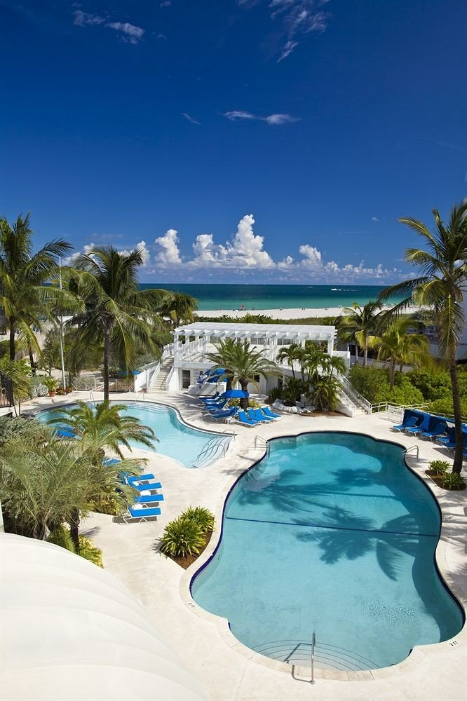 sky swimming pool leisure Resort Nature Beach Ocean Water park caribbean Sea Lagoon tropics park palm shore day