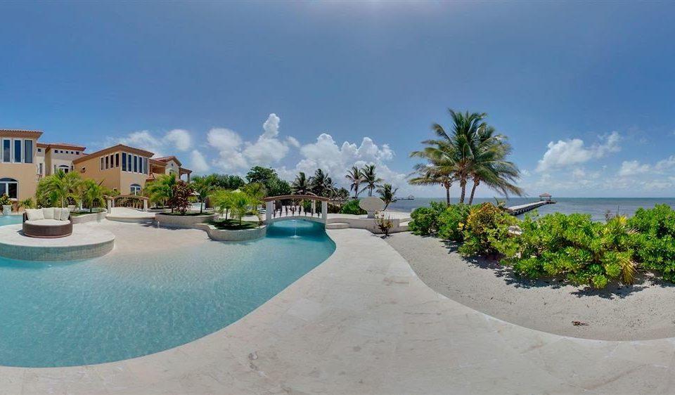 sky Pool property swimming pool Nature Beach Resort caribbean Villa shore Lagoon Sea reef swimming