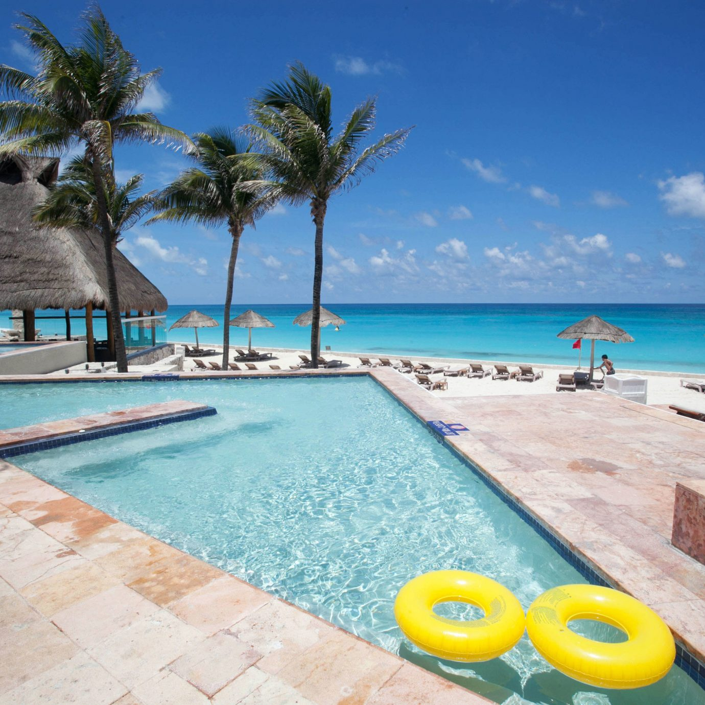 sky water ground swimming pool property leisure caribbean Resort Villa Sea Beach Ocean Pool Lagoon shore swimming