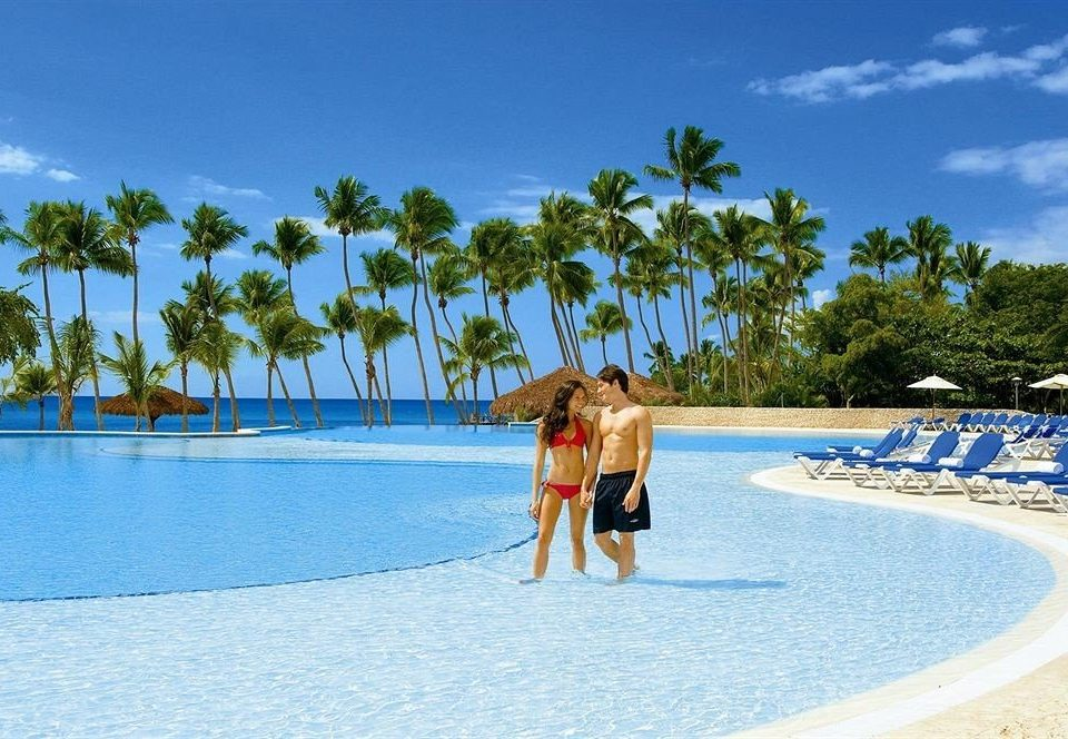 sky water leisure swimming pool Beach caribbean Resort Ocean Sea Water park Lagoon shore blue swimming