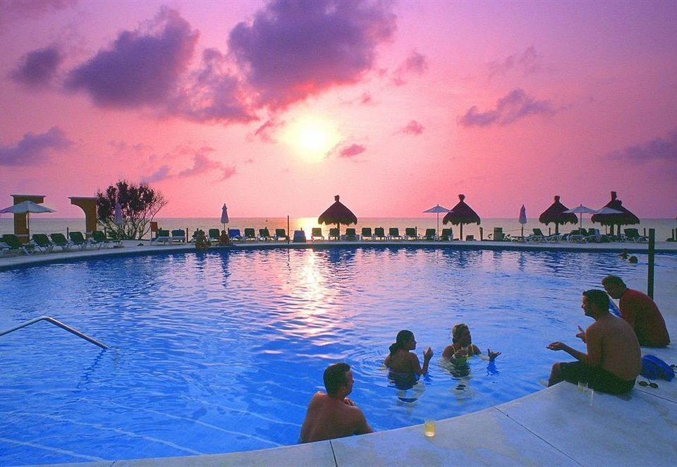 water Sea Resort Ocean swimming pool evening Beach dusk Sunset Lagoon