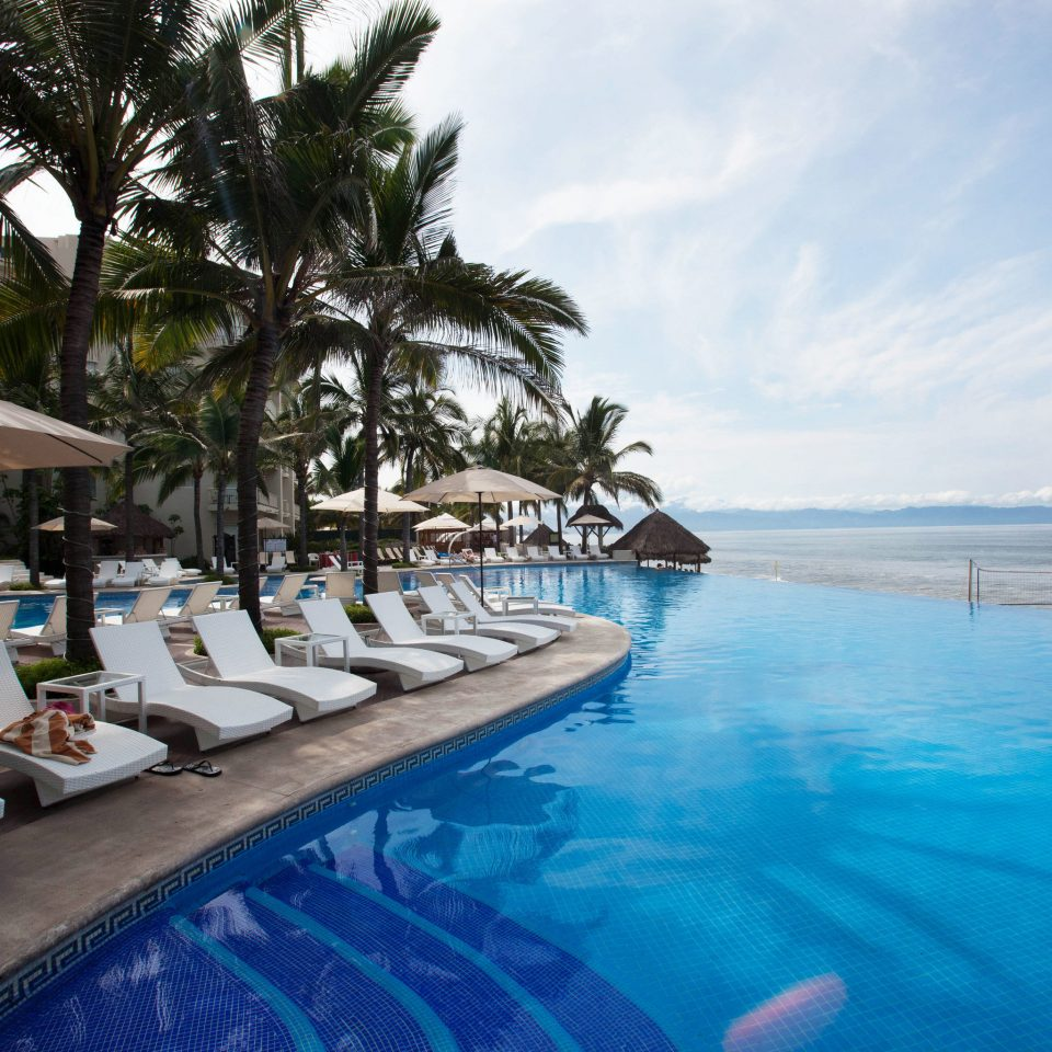 water sky swimming pool Resort Pool caribbean Sea Lagoon resort town Beach swimming lined day