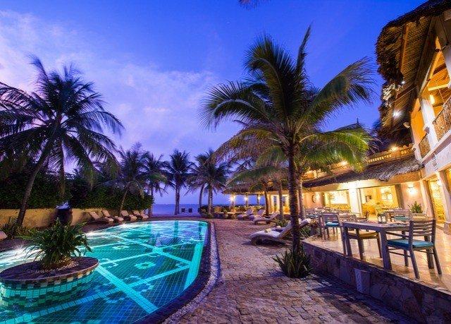 sky palm tree Resort swimming pool Beach Pool caribbean arecales resort town Lagoon plant lined