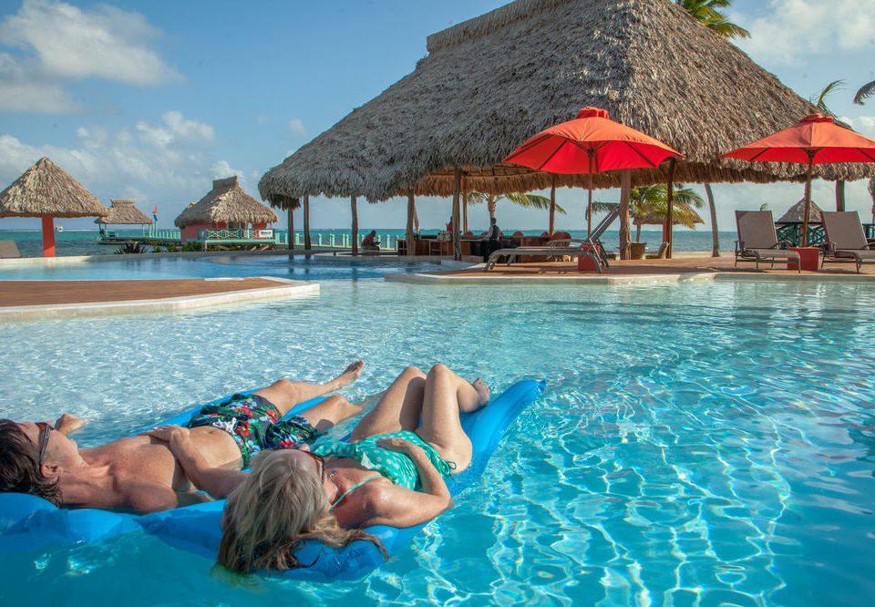 Water Pool Swimming Umbrella Leisure Resort Caribbean Sea Sport Beach Lagoon Park